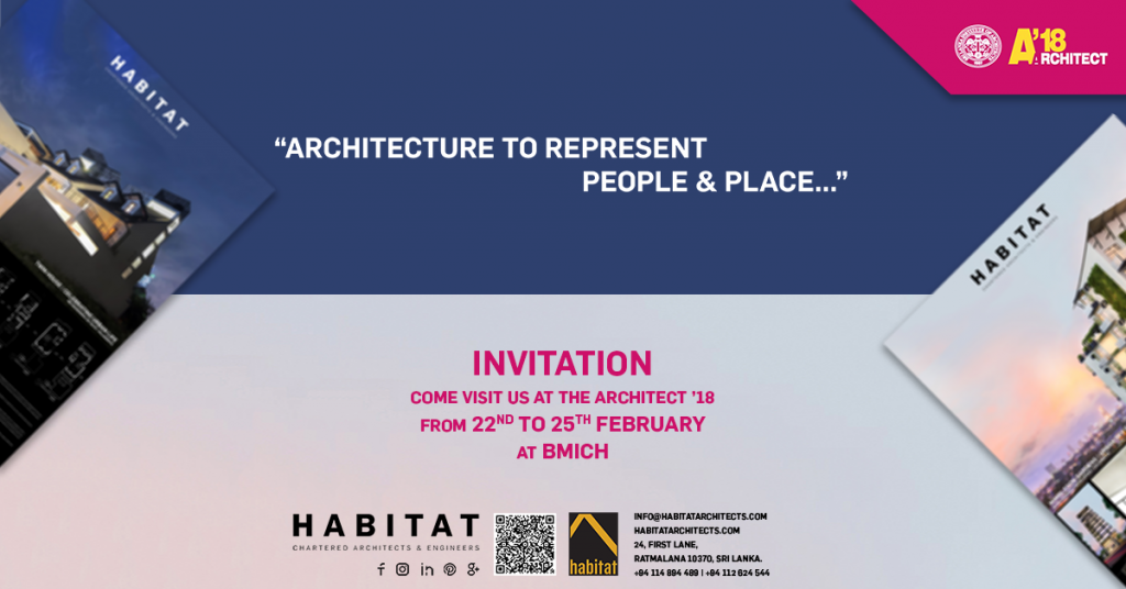 Invitation slia architect 2018 exhibition showcasing our work would like to cordially invite our clients friends and colleagues to come see our architectural work at the architect exhibition 2018 stopboris Images